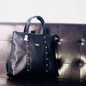 Fashionable black Victoria Secret Backpack
